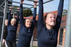 armgang piger, fitnessefterskole