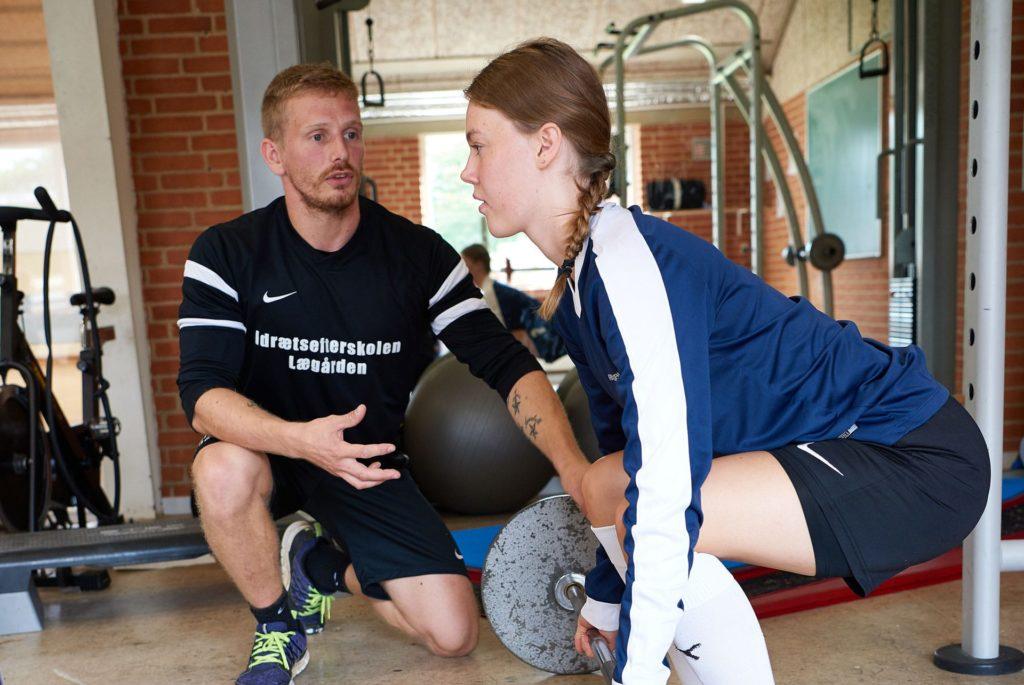 fitnessefterskole vægtløftning