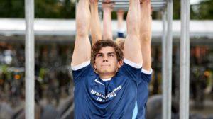 armgang træning på en fitnessefterskole