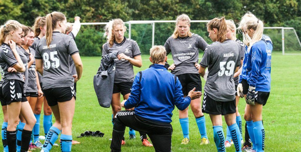 fodboldefterskole træning