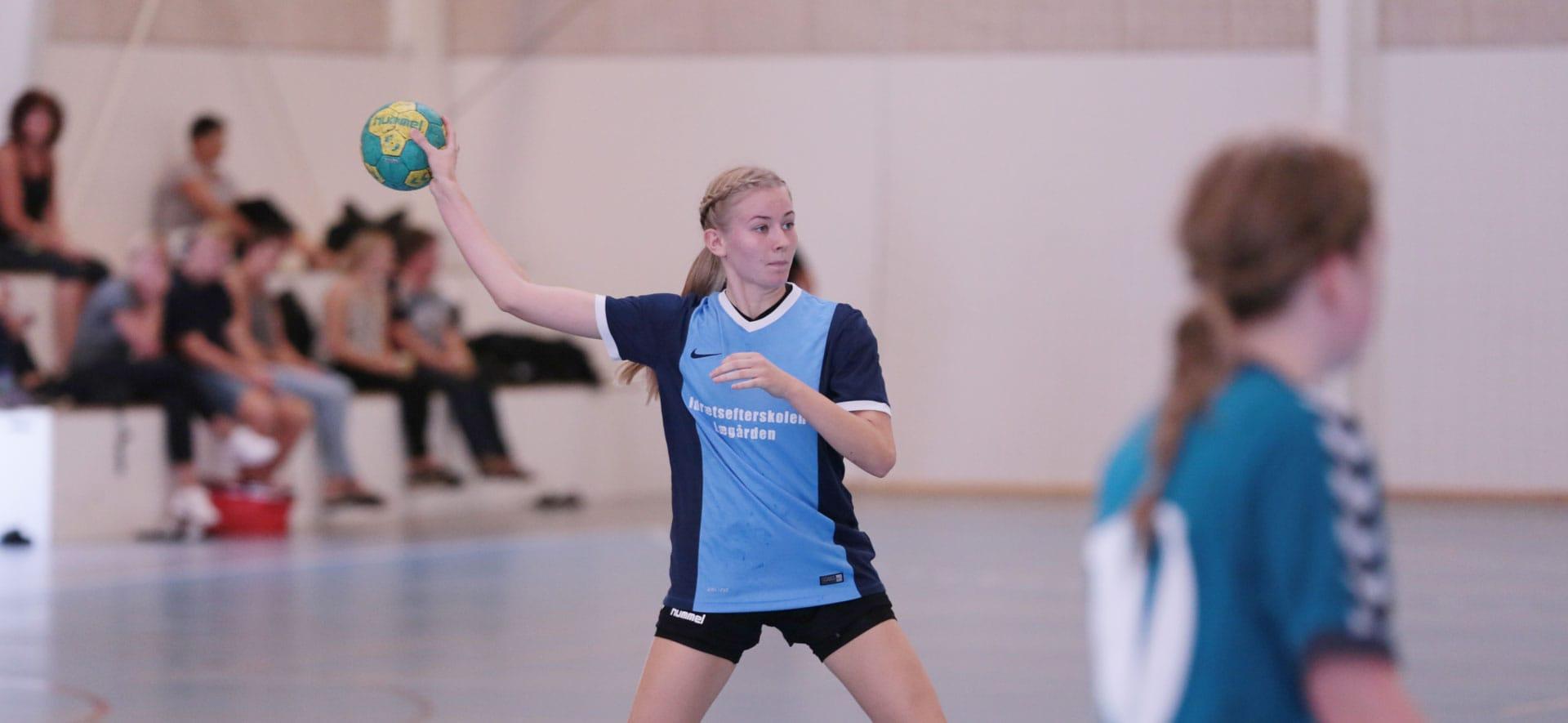 Gør klar til kast på håndboldefterskolen