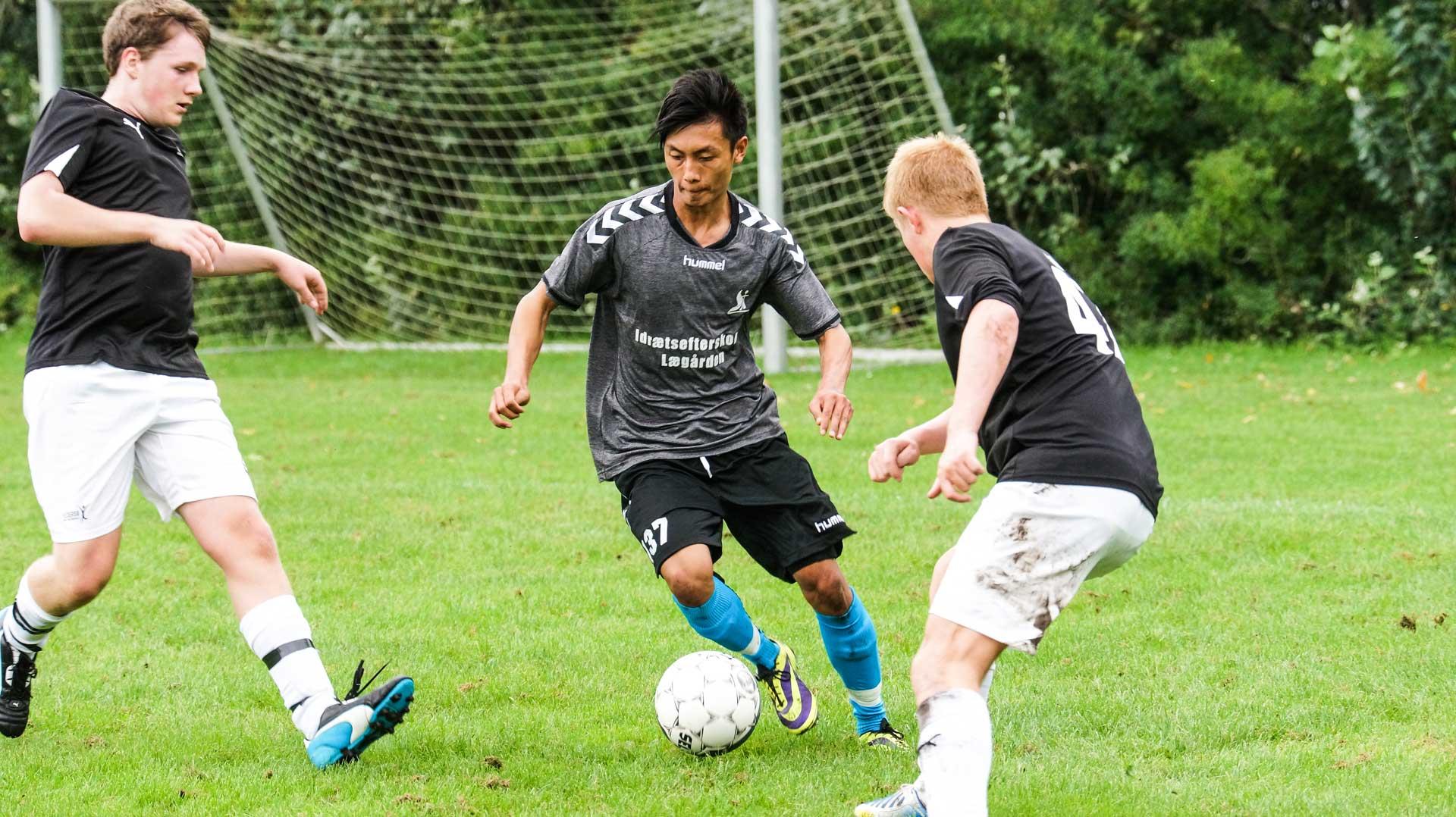 den bedste efterskole i jylland for fodboldspillere
